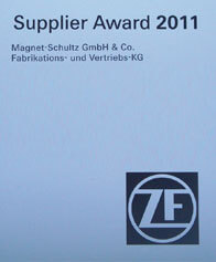 [Translate to it:] ZF Supplier Award 2011